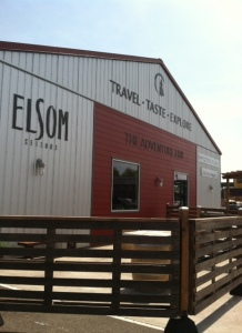 The newest tasting room for winemaker ; Jody Elsom  off of 1st Ave, South Seattle